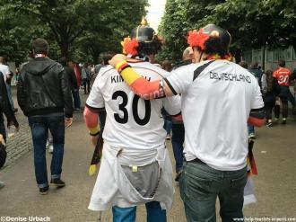 Deutschland Fans Paris