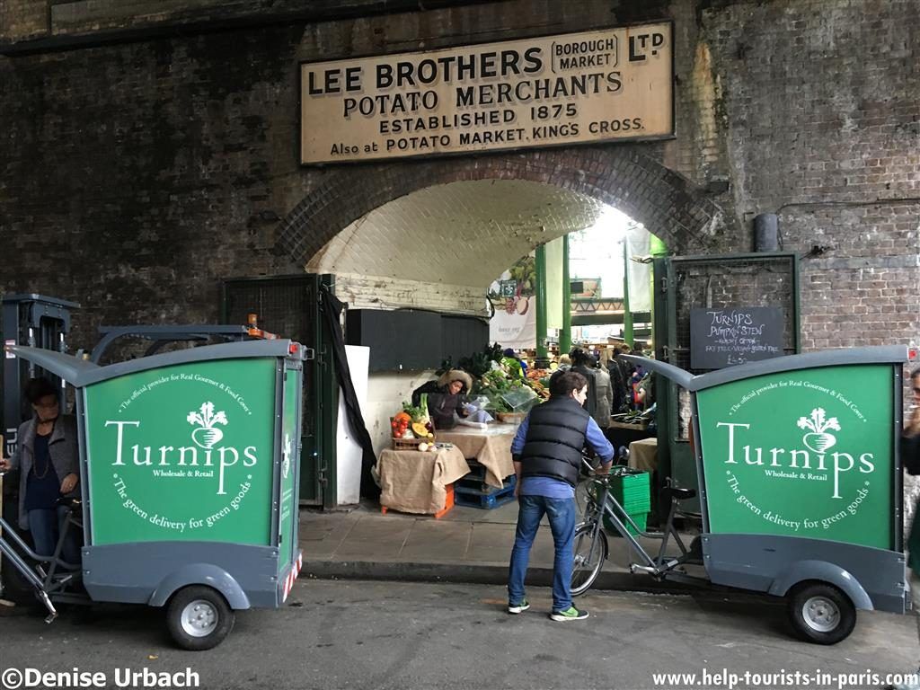 Borough Market London Besuch