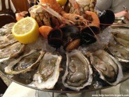 Meeresfrüchte essen Paris