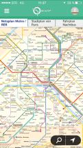 Paris App mit Metroplan