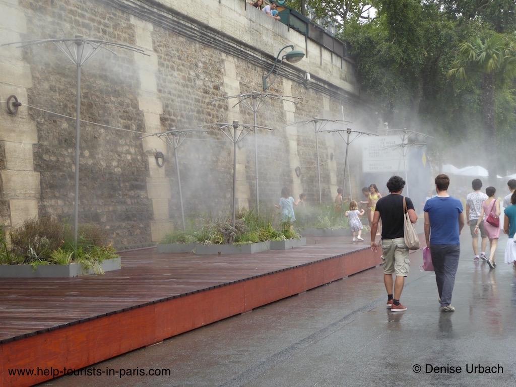 Paris Plages Wasserzerstäuber