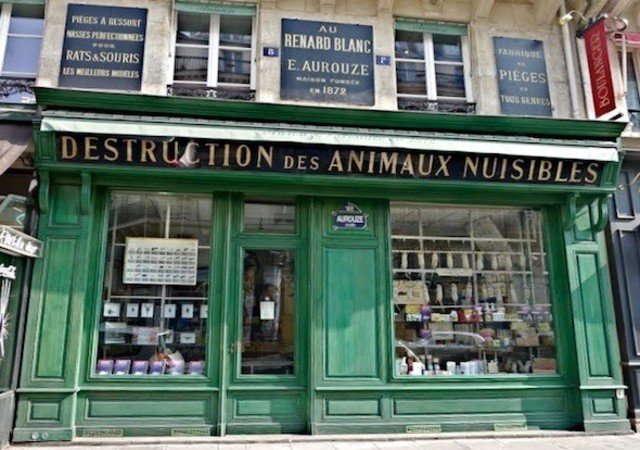 Skurrile gesch fte in paris jetzt informieren for Animaux nuisibles maison