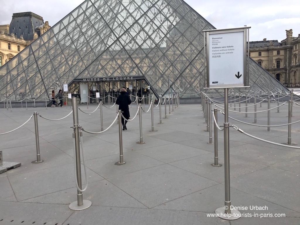 Haupteingang Louvre