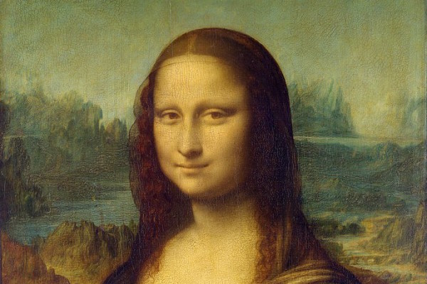 Mona Lisa im Louvre in Paris