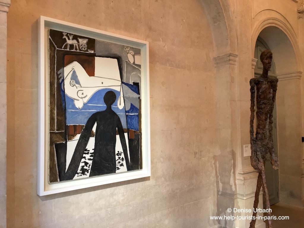 Picasso und Giacometti im Picasso Museum Paris