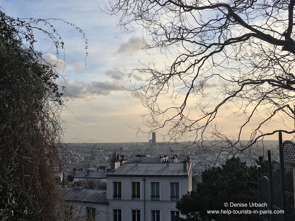 Montmartre Ausblick Paris