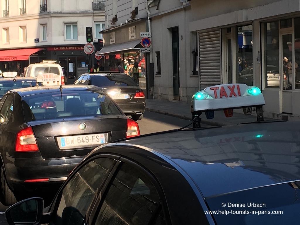Taxi Paris frei