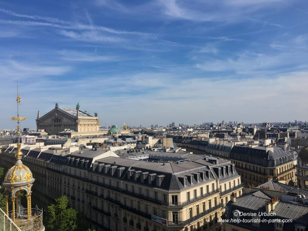 Blick auf Opera Garnier Paris