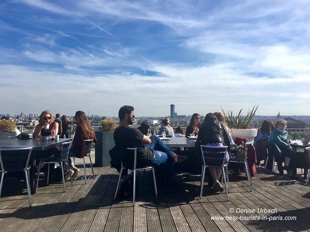 Dachterrasse Printemps mai 2017