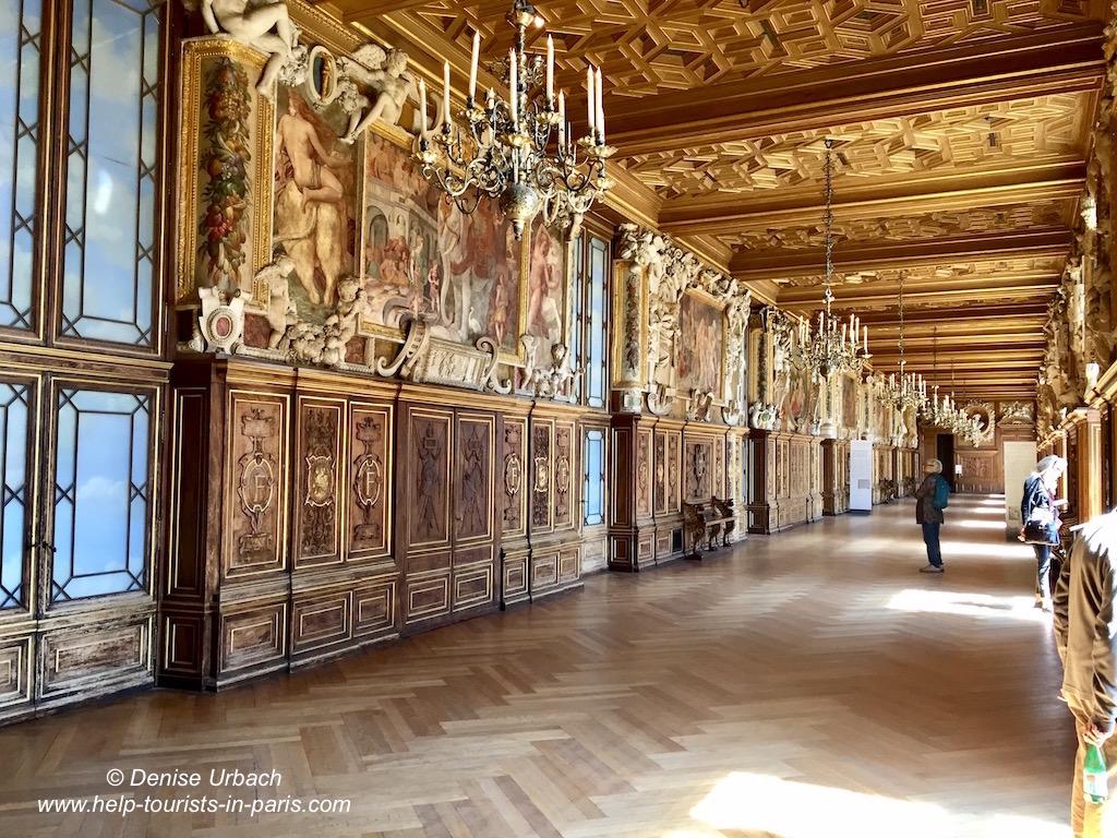 Schloss Fontainebleau Galerie Franz I.