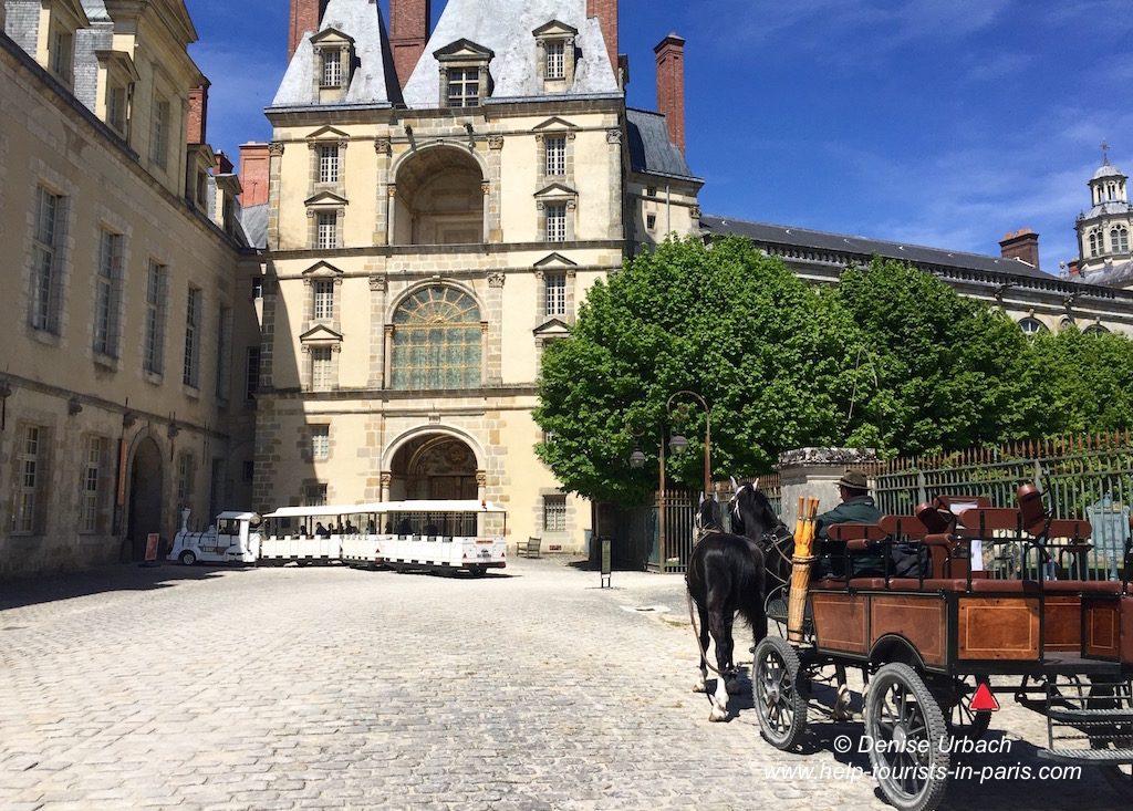 Schloss Fontainebleau Kutschfahrt