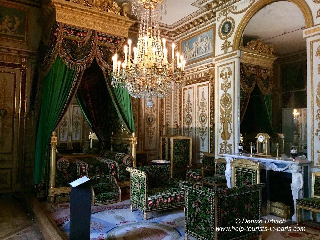 Schloss Fontainebleau Schlafzimmer Kaiser