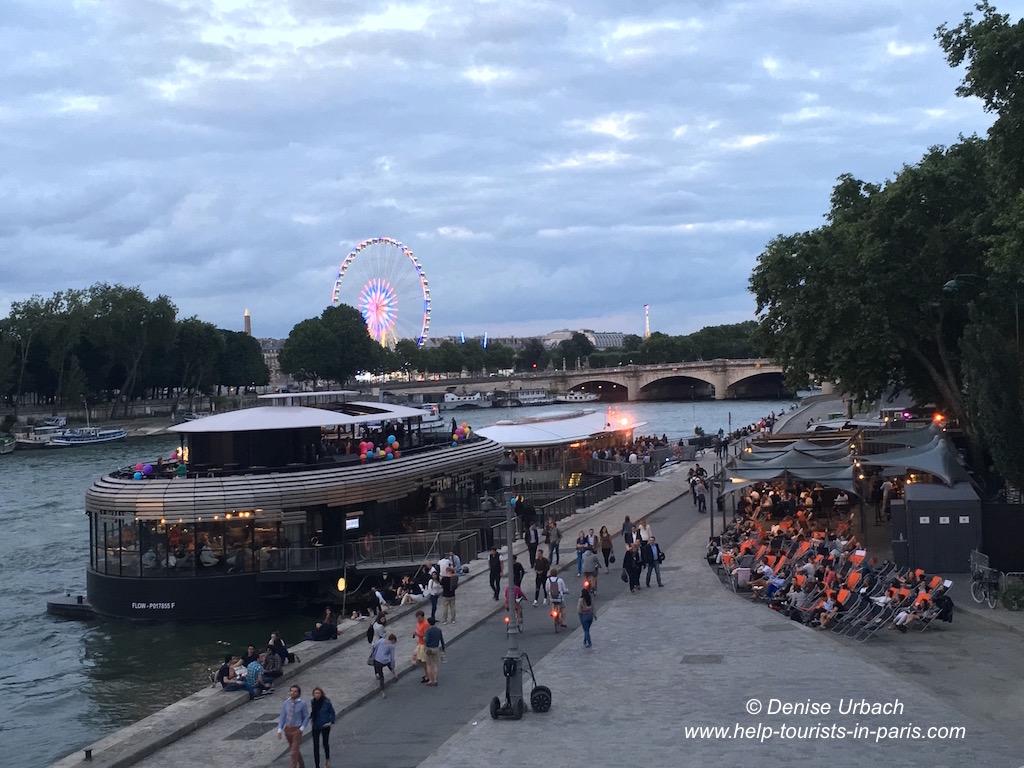 Hausboot Paris Seine