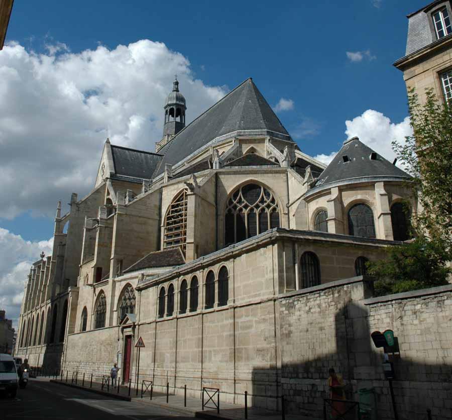 L'église Saint-Etienne du Mont in Paris