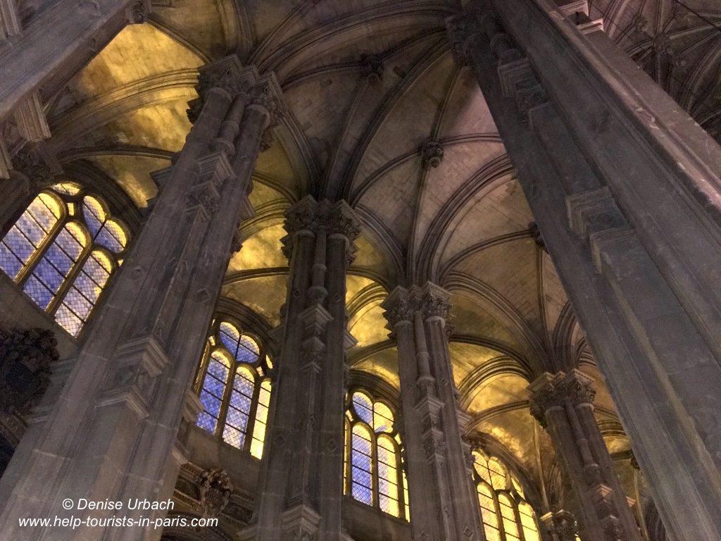 Saint Eustache Kirche Paris Innen