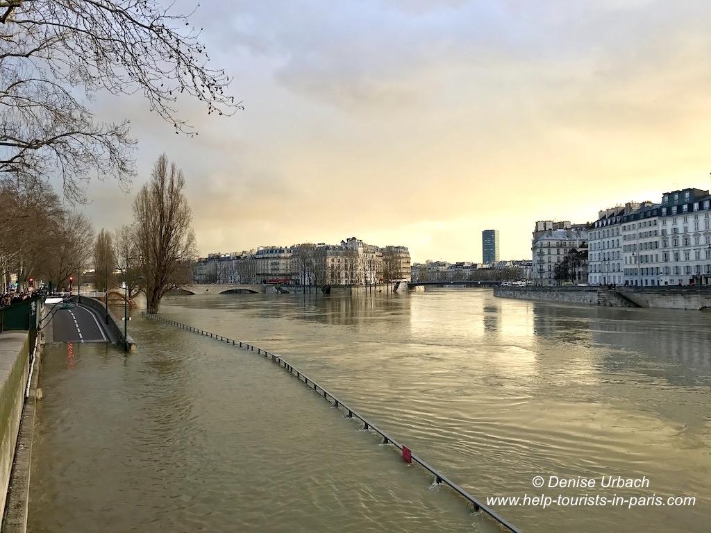 Überschwemmung Paris