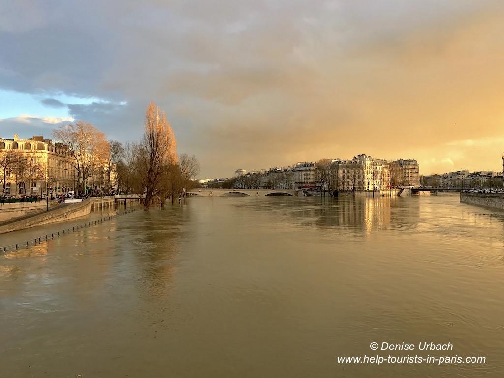 Hochwasser in der Seine