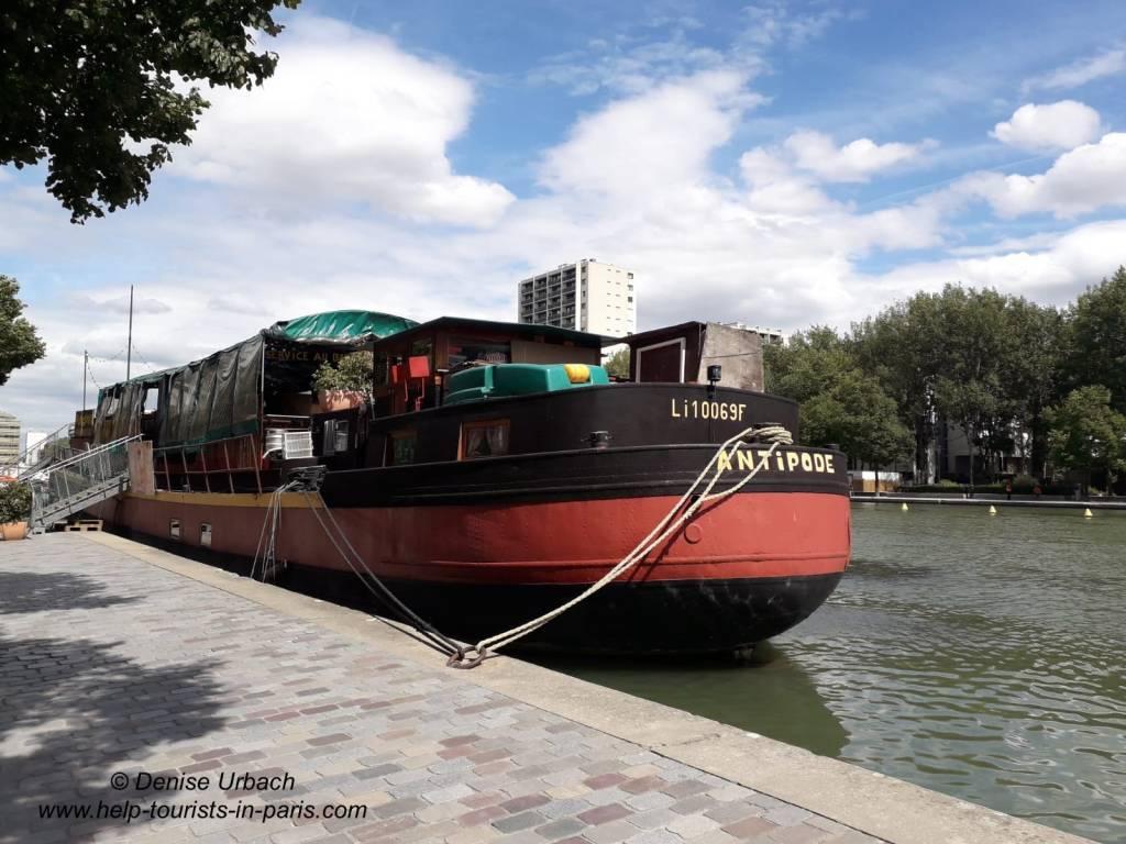 Antipode Hausboot Paris