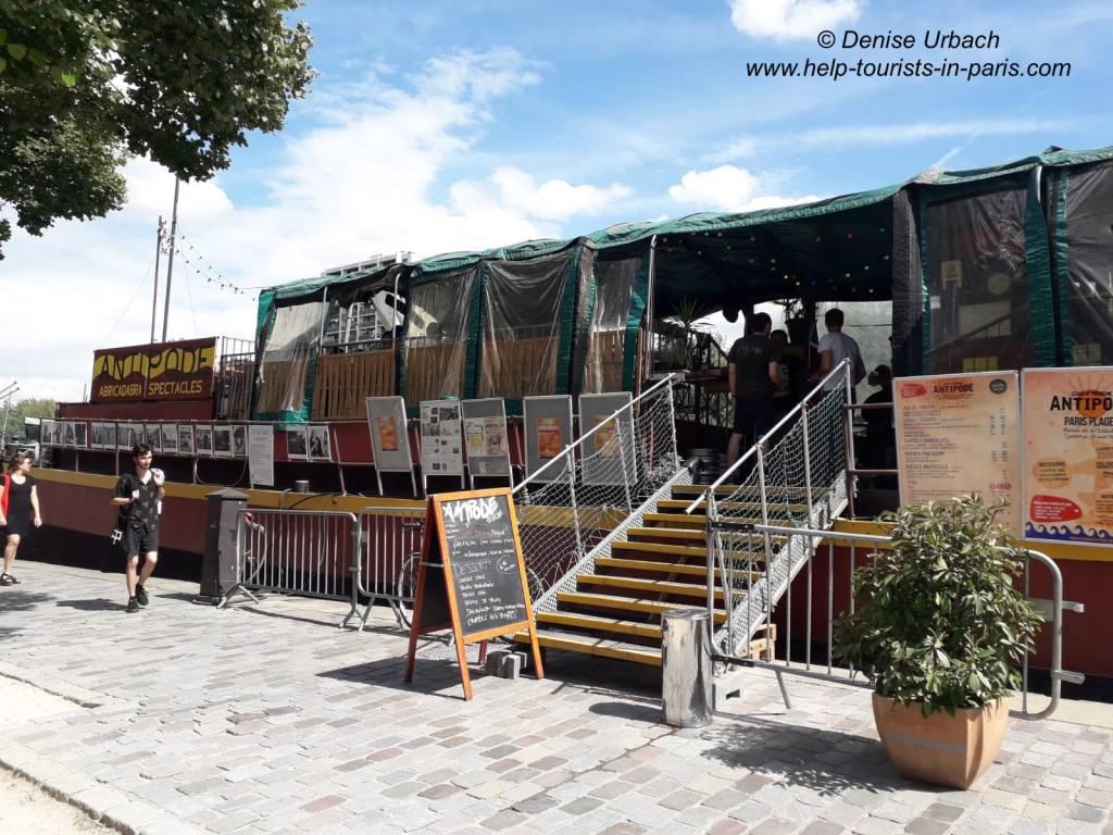 Pariser Hausboot Antipode