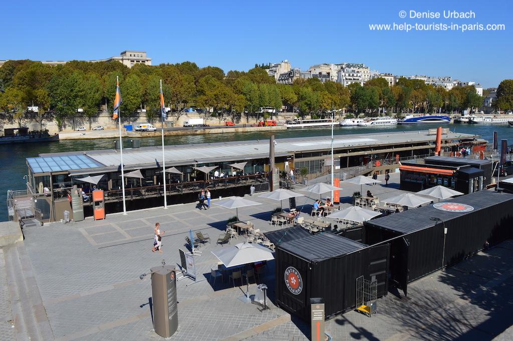 Bootsanlegestelle Bateaux Parisiens Paris