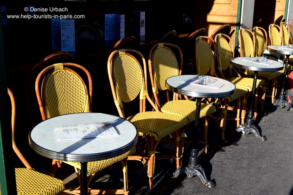 Café vor dem Musée d'Orsay