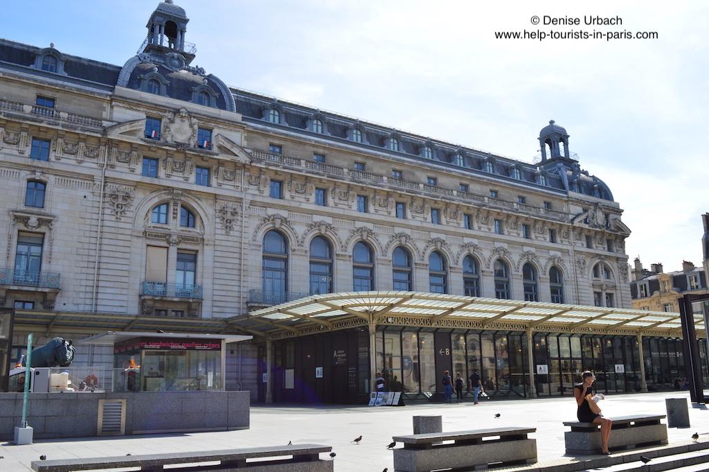 Musée d'Orsay Paris von vorne