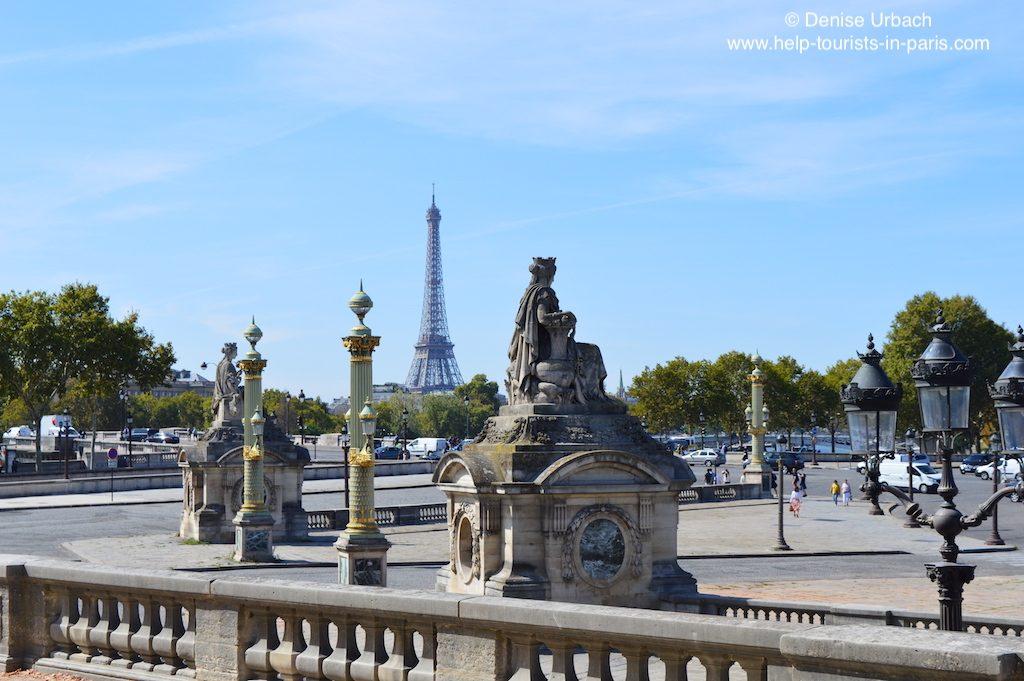 Place de la Concorde Eiffelturm