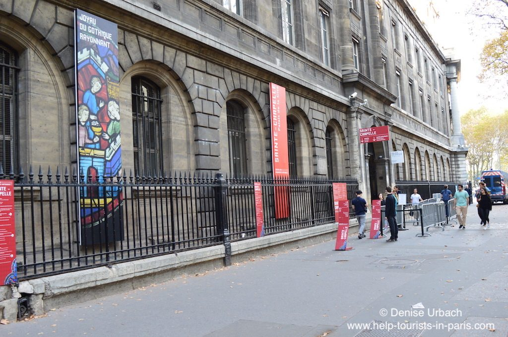 Sainte Chapelle Paris Eingang
