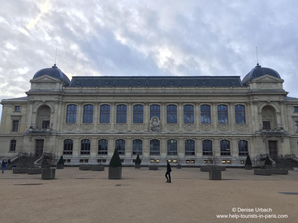 Naturkundemuseum Paris Quartier Latin