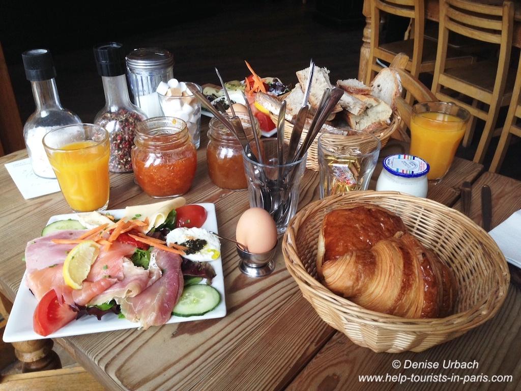 Pain de la Bourse Frühstück Paris