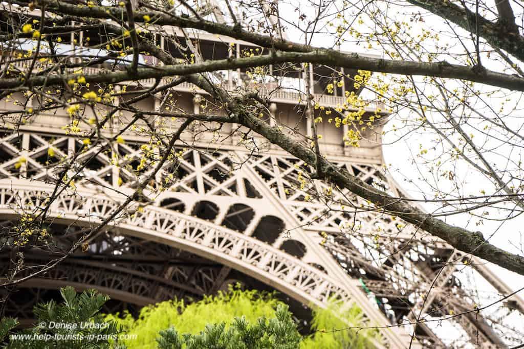 Eiffelturm Paris Frühling