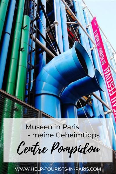 Centre Pompidou in Paris besuchen