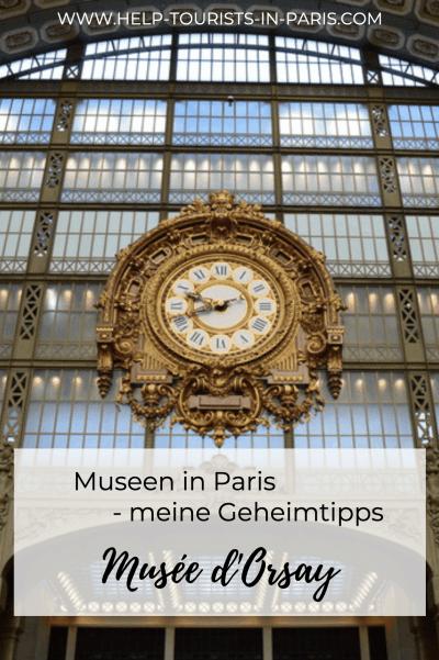Musée d'Orsay in Paris besuchen