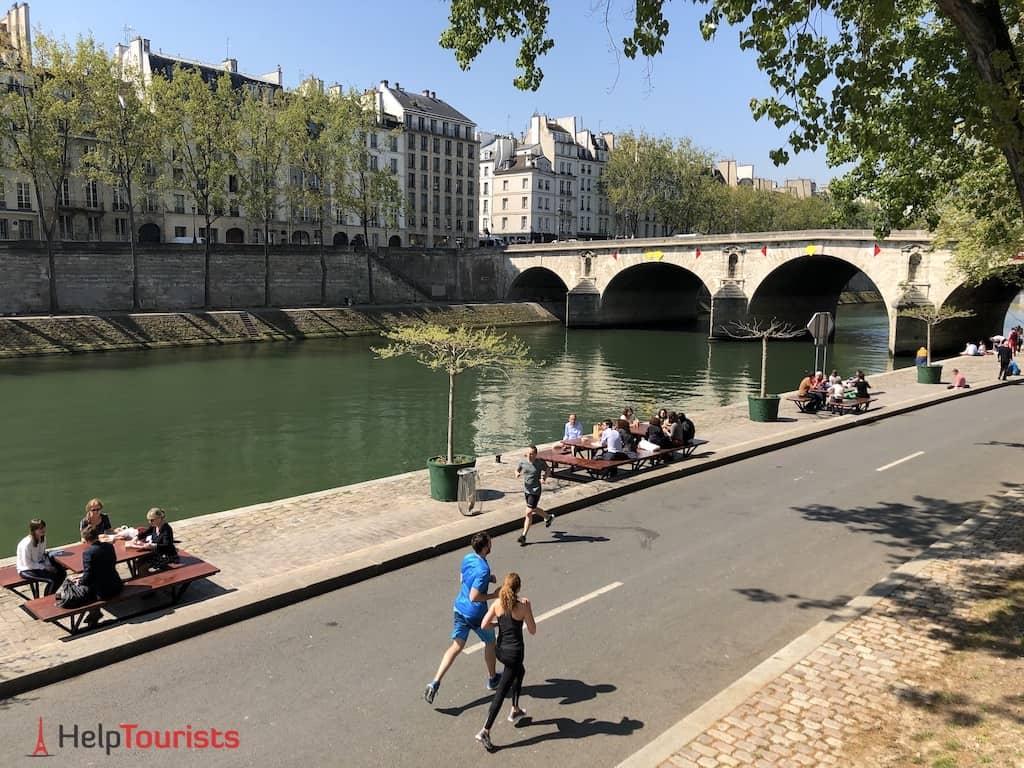Paris Seine Ufer