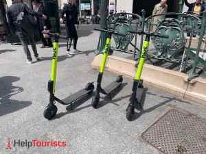 Elektroroller Paris Hire