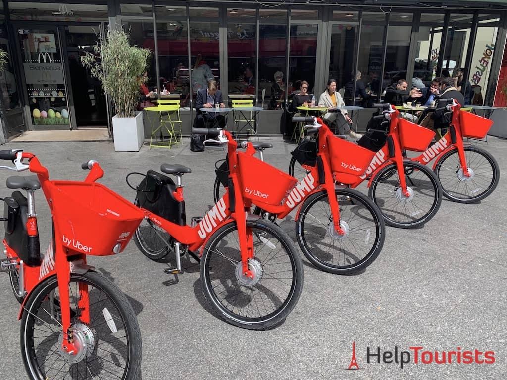 Fahrräder ausleihen Paris Uber