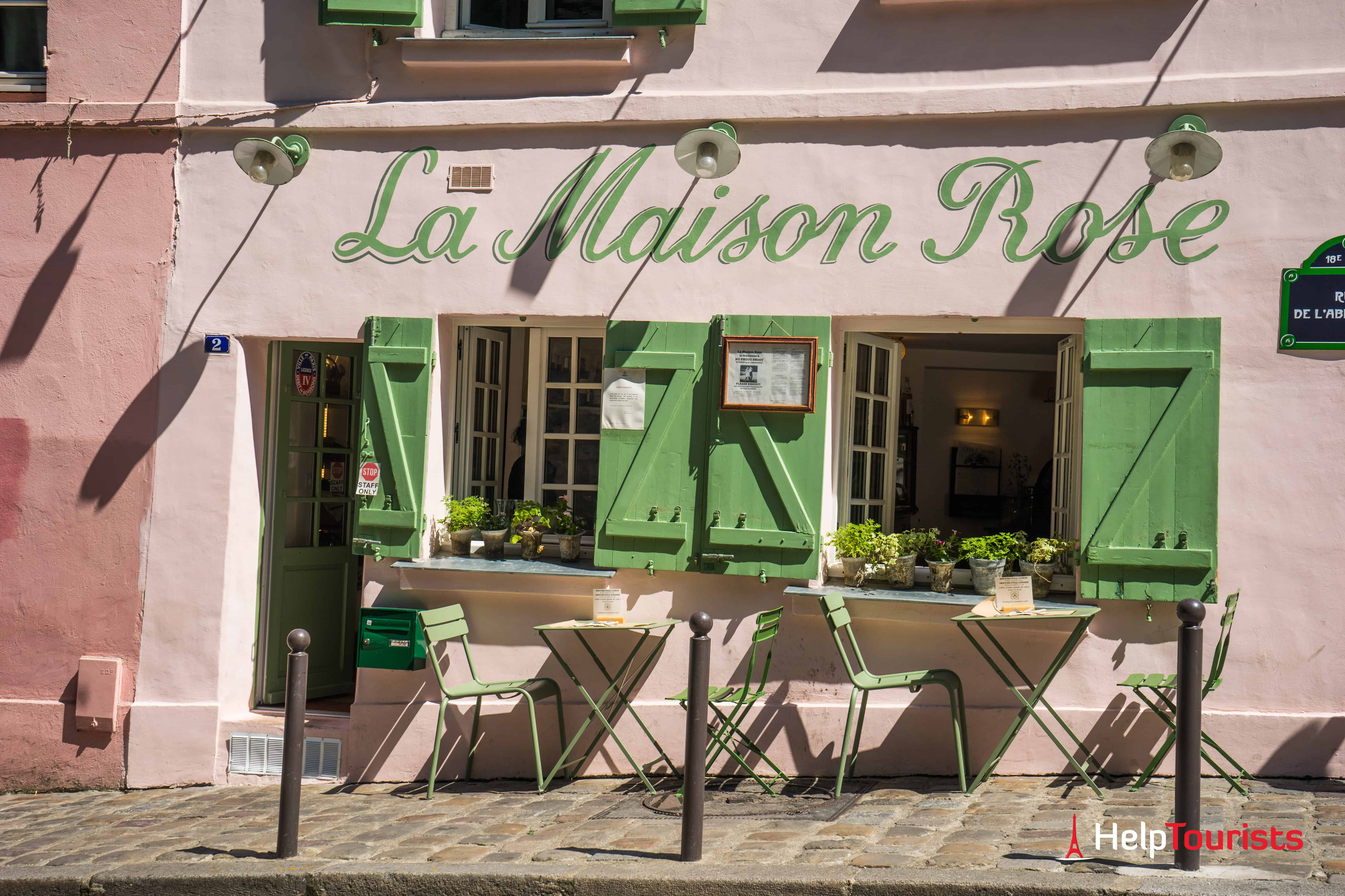 PARIS_La-maison-rose_Schild_l