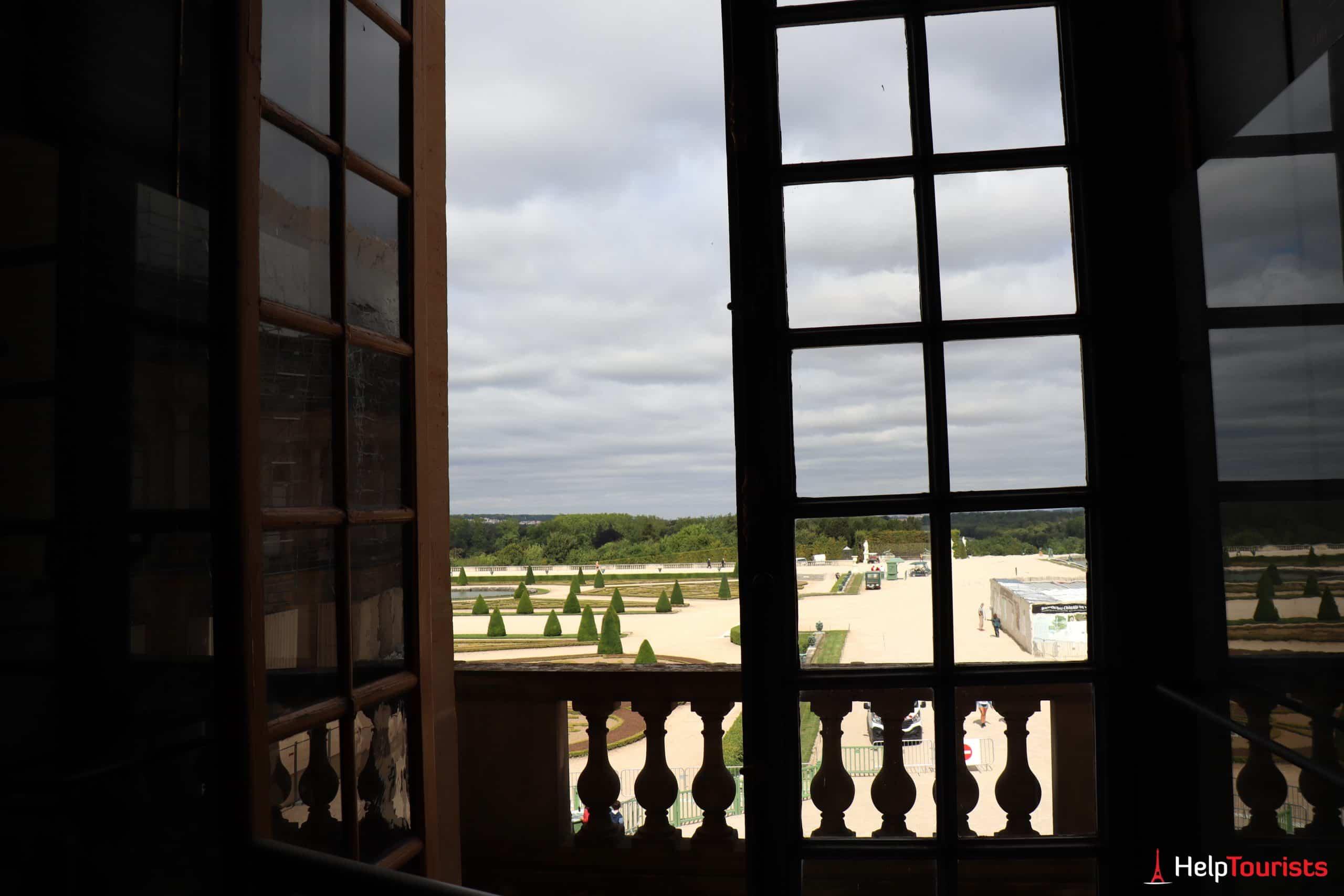 Paris Versailles Ausblick auf Garten 4