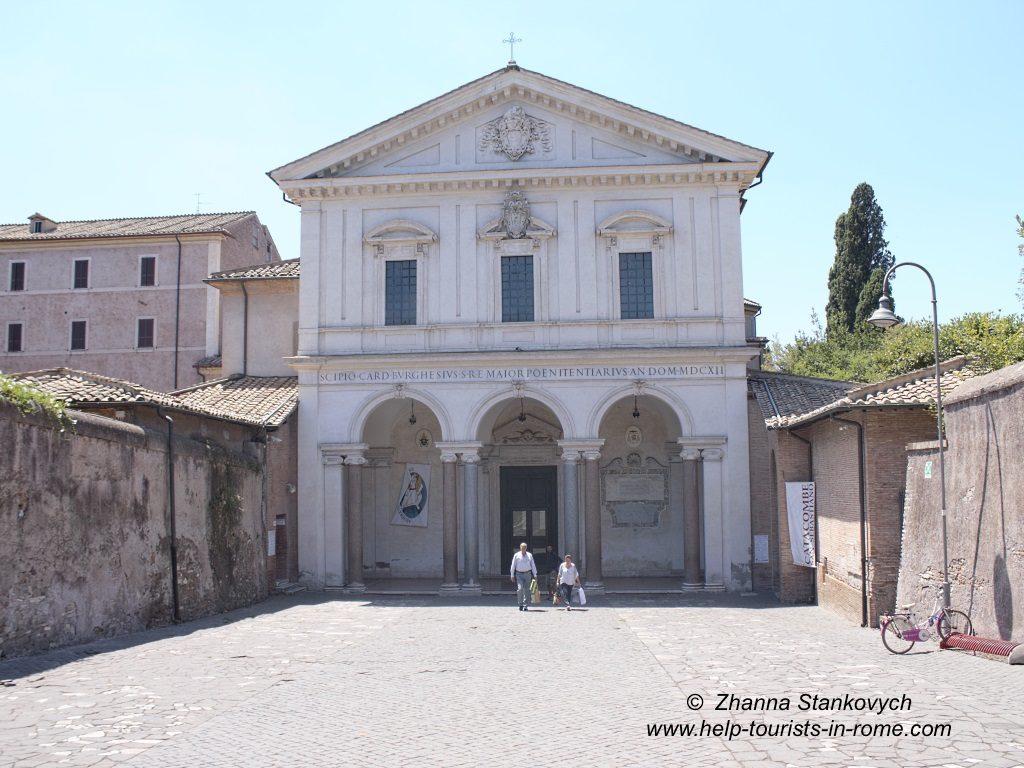 Basilika St Sebastian in Rom