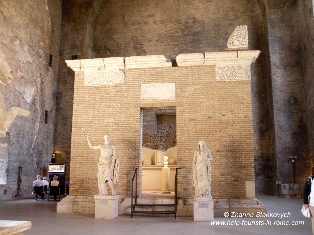 Diokletiansthermen Grabmal Rom