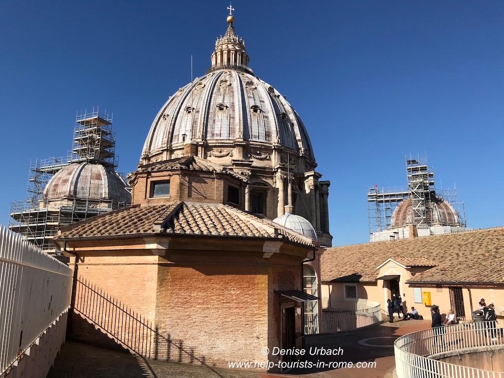 Kuppel Petersdom oben