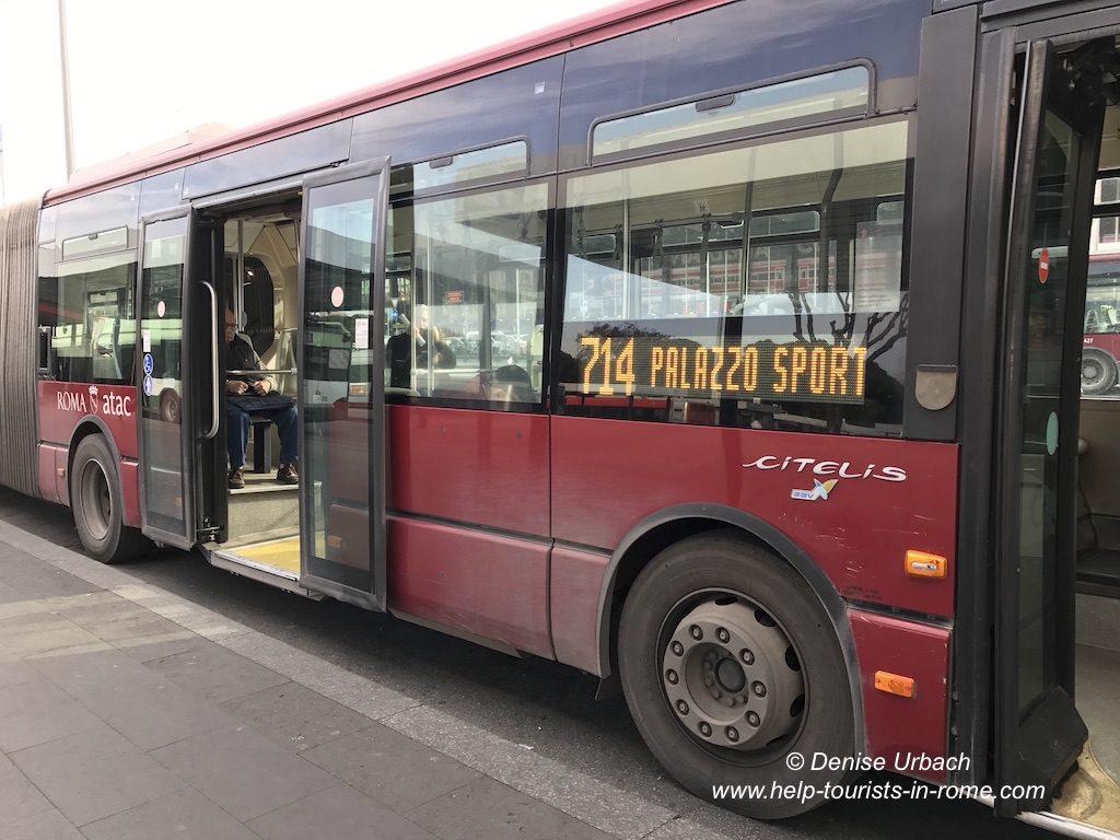 Linienbus Rom