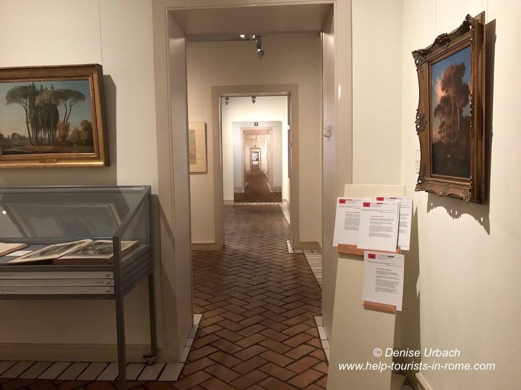 Goethe Haus Rom von Innen