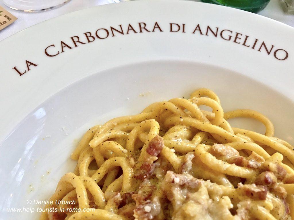 La Carbonara di Angelino Rom