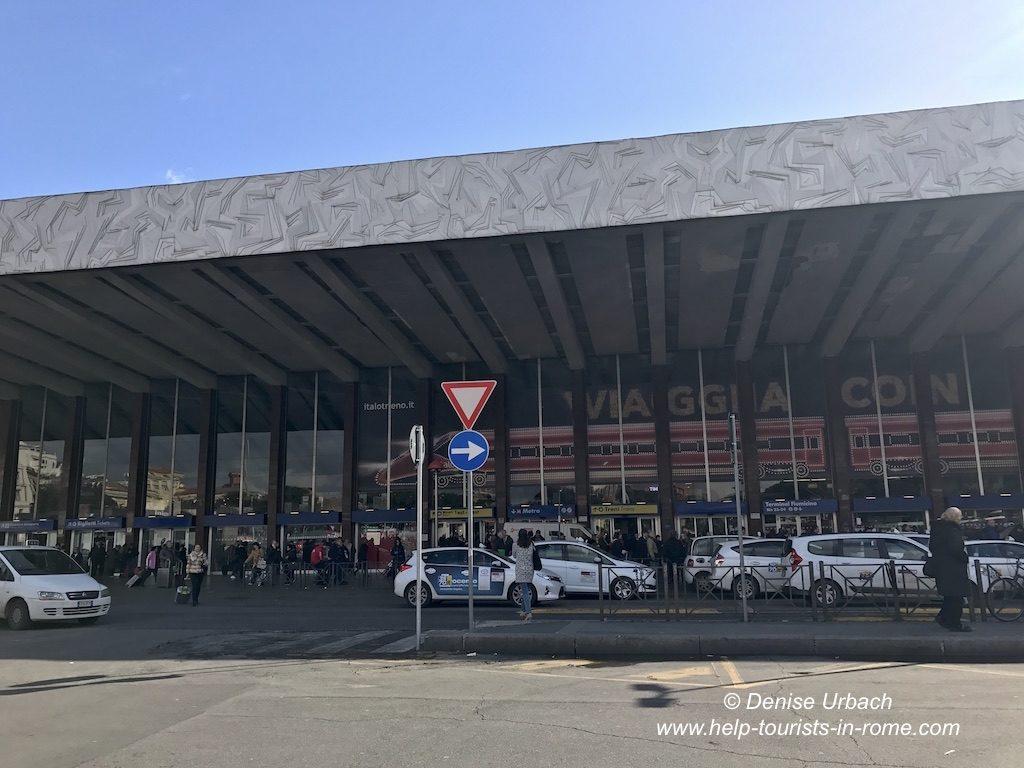 Taxis Rome termini station