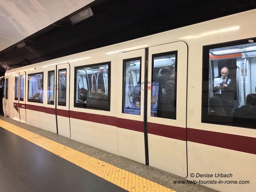 Metro-in-Rome