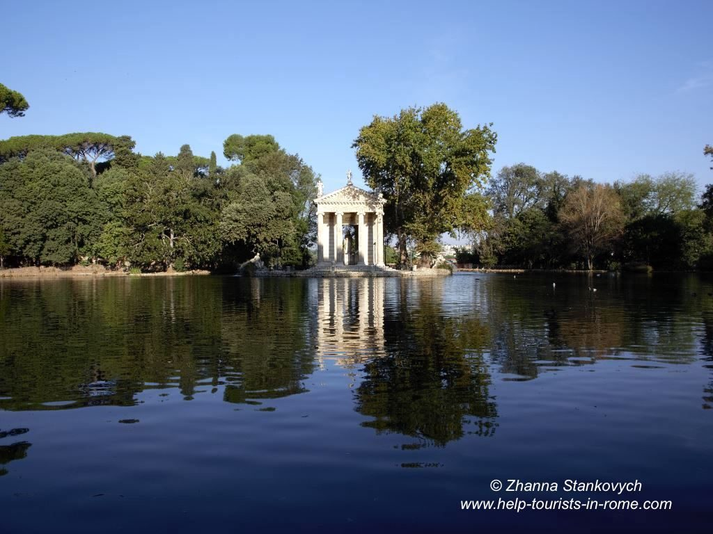 Valentine's Day Rome Lake Villa Borghese