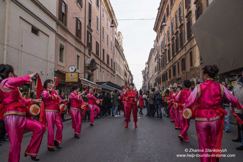 Chinese New Year in Rome