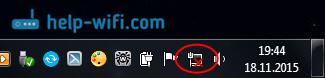 Нет значка Wi-Fi в Windows 7