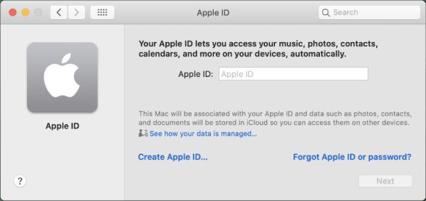 Create an Apple ID on Mac - Apple Support